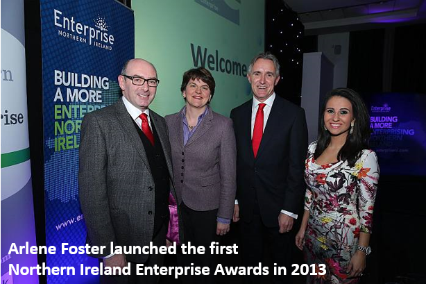 Arlene Foster launches Northern Ireland Enterprise Awards 2013