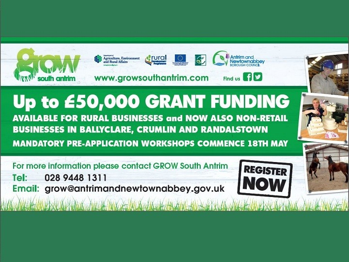 Funding of up to £50,000 for rural businesses!