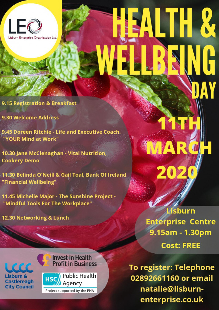 FREE Health & Wellbeing Event