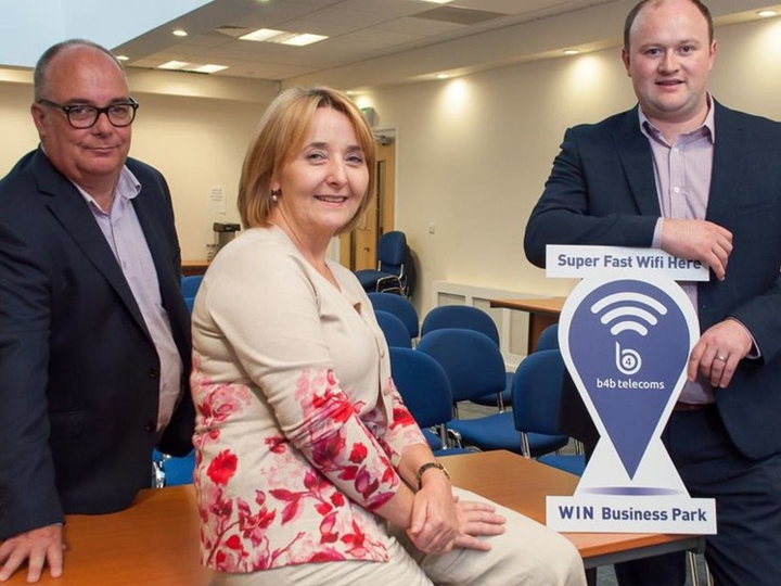 Newry & Mourne Enterprise gets 1GB internet speeds